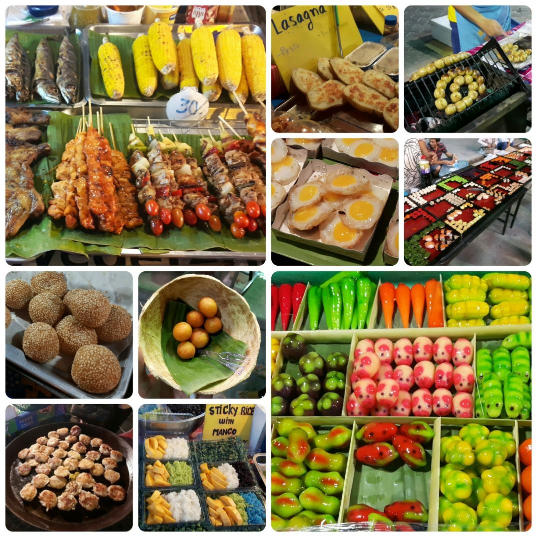 Koh Phangan'da tesadüfen keşfettiğimiz bir yemek pazarı :)